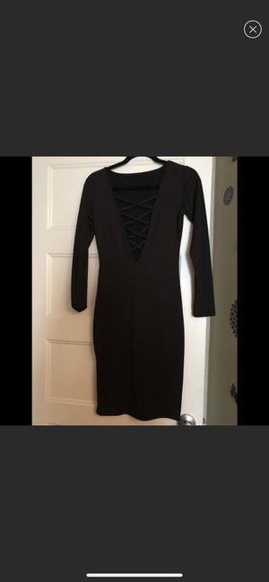Long sleeve black dress size s for Sale in Richmond, CA