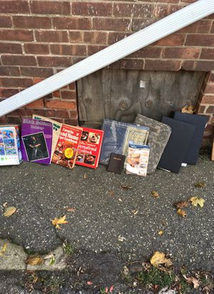 Books, photo albums, cook books, song cord books for Sale in Shelton, CT