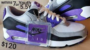 """Nike Air Max '90 """"Hyper Grapes"""" sneakers NEW for Sale in Inglewood, CA"""
