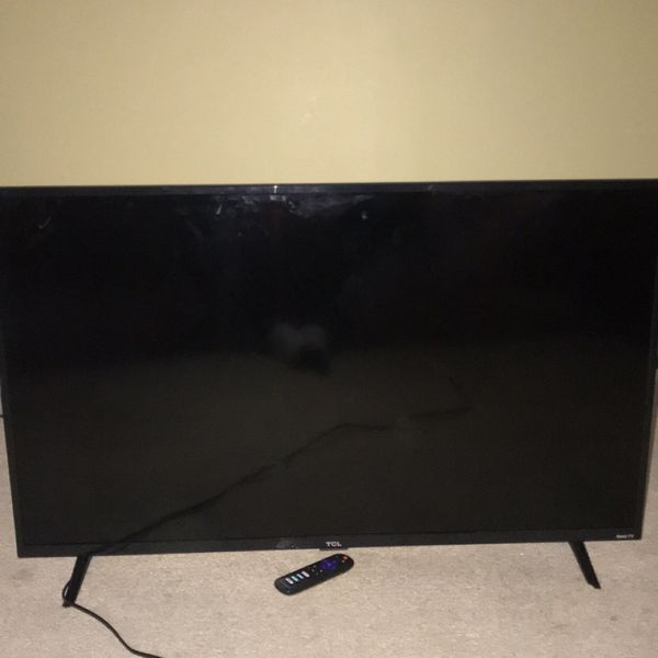 50'in TCL Roku Tv