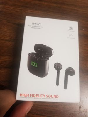 TOP Bluetooth 5.0 Wireless Earbuds with 【24Hrs Wireless Charging Case】 IPX5 Waterproof TWS Stereo Headphones in Ear Built in Mic Headset Premium for Sale in Portland, OR