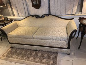 Victorian Style Antique Sofa White for Sale in Sarasota, FL