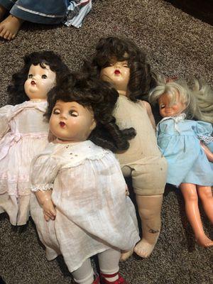 Vintage antique dolls composition for Sale in Los Angeles, CA