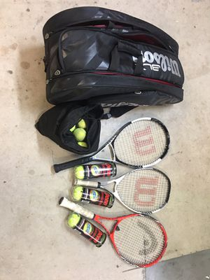 Tennis Rackets and supplies for Sale in Dana Point, CA