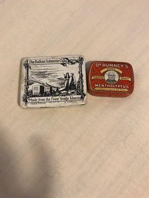 1940's Dr. Rumney's Snuff &The BalkanSobranie Cigarette Case for Sale in Tucson, AZ