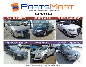Audi A3 A4 A6 A8 Q7 Used OEM Parts for Sale for Sale in Tampa, FL