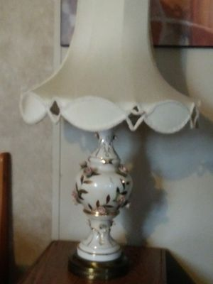 $30.00 Antique Elisa Kovacs Porcelain Lamp for Sale in Warren, MI