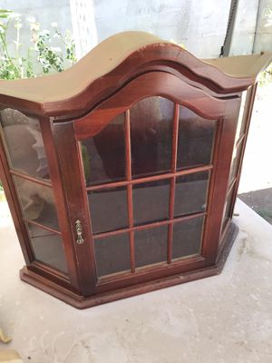 Antique Display Cabinet for Sale in Riverside, CA