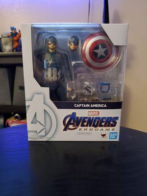 Sh Figuarts Avengers Endgame Captain America for Sale in Paramount, CA