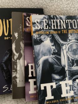 collection of S.E. Hinton books (different editions) for Sale in Portland,  OR
