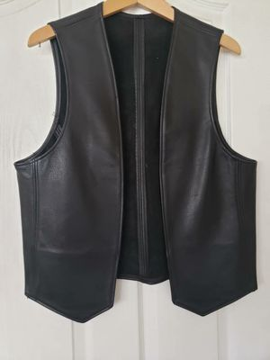 Macleo Sexy Leathers motorcycle vest size 42 Made in USA for Sale in San Diego, CA