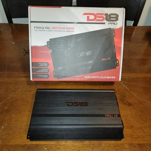 DS18 FRX2.5K 2500WATTS 1 Ohm PERFECT FOR SUBWOOFERS OR CHUCHERO BOXES for Sale in The Bronx, NY