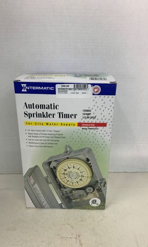 Intermatic automatic sprinkler timer for Sale in Lauderhill, FL