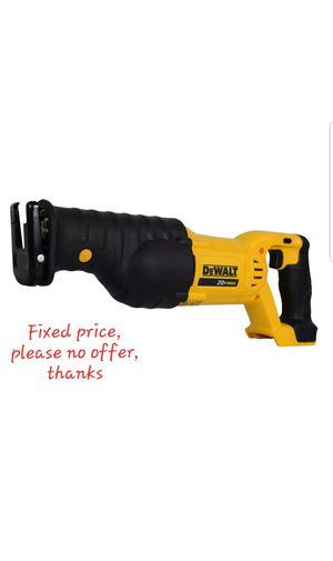 DeWalt DCS380B Reciprocating Saw Sawzall (Battery or Charger not included) for Sale in UPR MARLBORO, MD