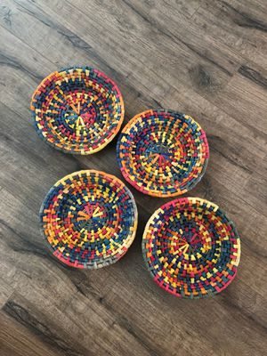 Fair trade baskets 4 for Sale in Cleveland, TN