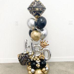 Mini Balloons Bouquet - Happy Birthday for Sale in Miami, FL
