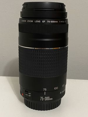 Canon 75-300mm Zoom Camera Lens for Sale in Berkeley, CA