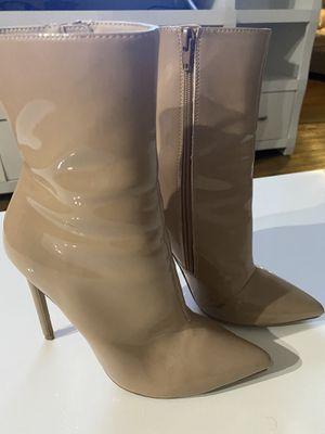 Steve Madden PU boots 7.5 for Sale in Sunrise, FL