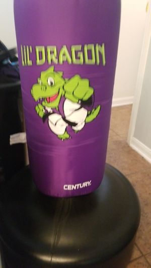 Lil' Dragon Punching bag/stand. for Sale in Kissimmee, FL