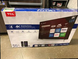 """55"""" TCL Roku Tv❗️ PNO3 for Sale in Whittier,  CA"""
