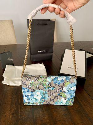 Gucci Blooms Mini Chain Wallet Purse for Sale in Santa Monica, CA