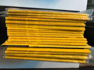 Stack of 21 National Geographic magazines. Years 2016-2018 for Sale in Tampa, FL