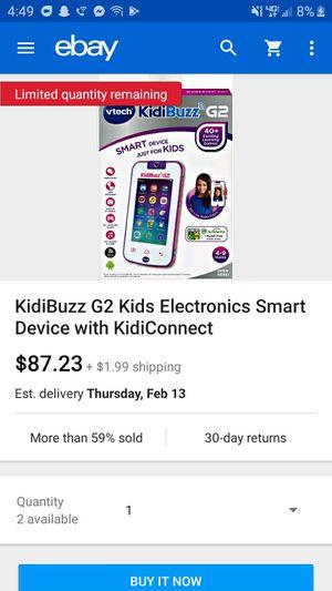 Kidibuzz g2 for Sale in Tucson, AZ