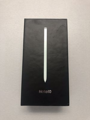 Samsung Galaxy Note 10 256GB Unlocked for Sale in Tampa, FL