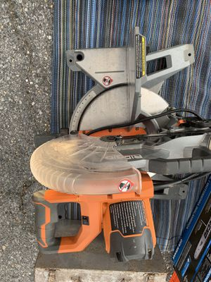 """Rigid 10"""" COMPOUND SAW for Sale in College Park, MD"""