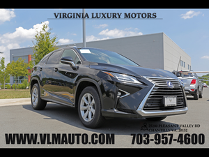 2016 Lexus RX 450h for Sale in Chantilly, VA