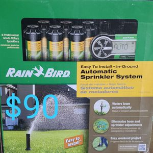 Rainbird Complete Setup For 6 Sprinkler for Sale in Bakersfield, CA