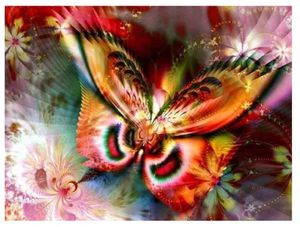 Beautiful DIY Butterfly Diamond Painting Brand-New this is a Kit you finish it approximately 12x16 for Sale in Apache Junction, AZ
