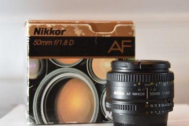 Nikkor 50mm F/1.8D AF for Sale in Scottsdale,  AZ