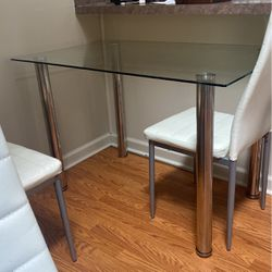 Small Glass Table In Need Of Repair for Sale in Cleveland,  OH