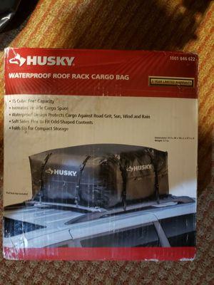 Husky waterprook rook rack cargo bag for Sale in Abilene, TX