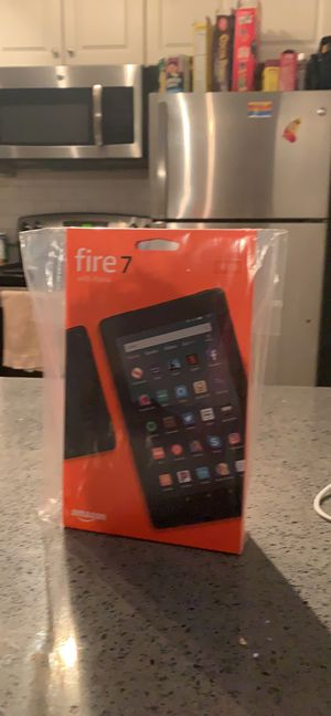 Tablet amazon fire 7 with Alexa for Sale in Framingham, MA