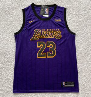 LeBron James Los Angeles Lakers NBA Jersey - Brand New - Men's - Nike 2019 / 2020 Purple Basketball Jersey - Size M for Sale in Chicago, IL