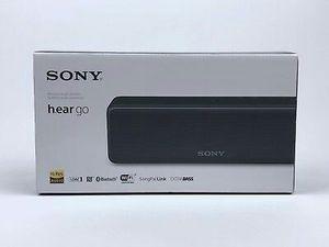 BRAND NEW Sony H.ear.go SRS-HG1 Wireless Portable Speaker Bluetooth - BLACK for Sale in Dallas, TX