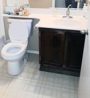Bathroom cabinet, vanity, large mirror for Sale in Oakley, CA