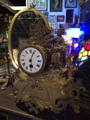Antique Vintage Victorian Gold Ornate Clock for Sale in Fort Lauderdale, FL