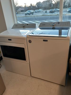 Maytag top load washer and gas dryer set new with 6 month's warranty for Sale in Mount Rainier, MD