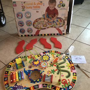 Baby Toy Sound And Play Busy Table/ Juguetes Para Bebe for Sale in Houston, TX