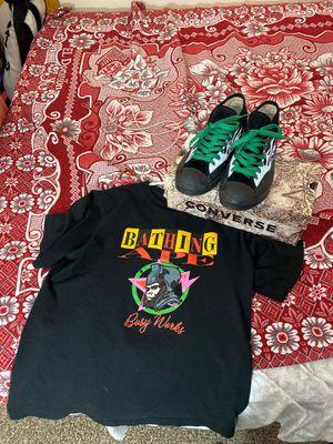 Bape shirt and ASAP nast converse for Sale in Washington, DC