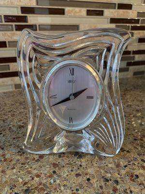 Mikasa Lead Crystal Clock for Sale in Sandy, OR