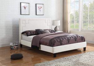 PLATFORM FULL BED FRAME no mattress for Sale in Scottsdale, AZ