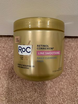 Roc Retinol Correction daily resurfacing disks facial cleansing pads 28 count for Sale in Alexandria, VA