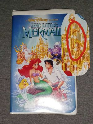 V H S, The Little Mermaid, it's the discontinued version with the controversial cover. for Sale in Victoria, TX