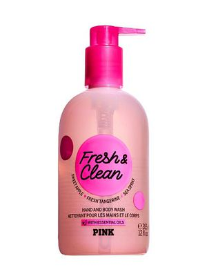 Victoria Secret pink fresh abs clean hand and body wash for Sale in Bellflower, CA