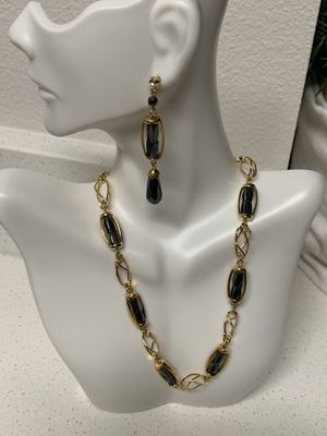 Fifth Avenue Collection Jewelry - NEW 30% off Hematite necklace and earrings set for Sale in Camas, WA