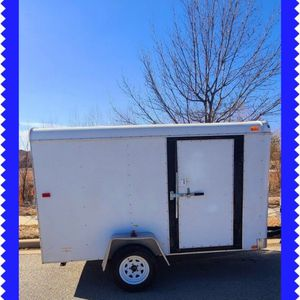 "ENCLOSED CARGO TRAILER UTILITY TRAILER 6 X 10'6"" for Sale in Fort Worth, TX"
